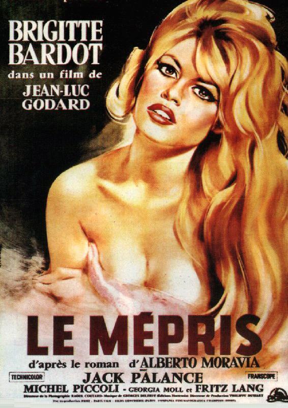 Como bonus track se proyectará la versión restaurada de El desprecio, de Jean-Luc Godard.